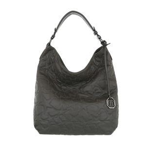 Ital-Design Damen Taschen Beuteltaschen Grau