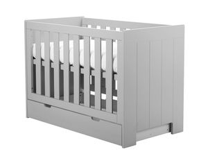 Pinio Bettschublade Calmo Grau für Babybett 60 x 120 cm