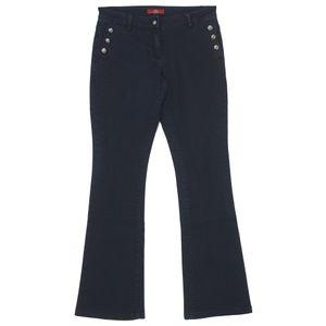 21705 S. Oliver, Shape Bootcut,  Damen Jeans Hose, Stretchdenim, blackblue, D 34 Inch 26 L 32