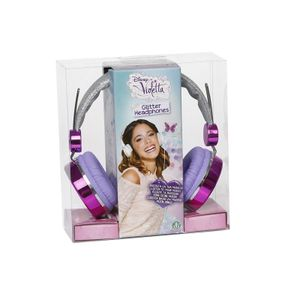 VIO Glitzer Kopfhörer Disney Violetta
