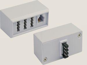 Schwaiger Telefonadapter TAE6(4) F/NFN