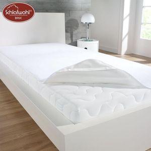 Molton Matratzen-Schutzauflage Atmungsaktiv Wasserdicht Auflage 90-100 x 200 cm
