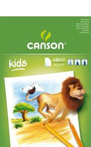 CANSON Malblock DIN A4 90 g/qm 30 Blatt
