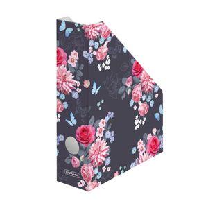 """5x Herlitz Stehsammler / Stehordner / DIN A4 / """"LadyLike Flowers"""""""