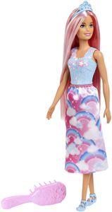 Barbie Dreamtopia Zauberhaar-Königreich Puppe (pinke Haare)