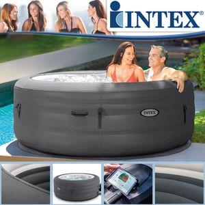 Intex Whirlpool 196x66 cm Simple SPA aufblasbar Outdoor Pool Badewanne