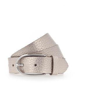 Vanzetti Glitter Radiance 30mm Metallic Belt W85 Platinumgold Metallic