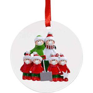 ALmi Personalisierte Namen Weihnachtsschmuck Kit - Weihnachtsbaumschmuck personalisierte Familie personalisierte Weihnachtsdekoration Kit kreatives Geschenk für die Familie