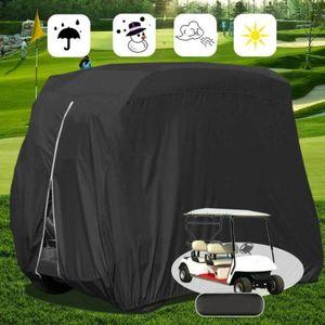 Schutzhülle Abdeckplane KFZ-Abdeckungen 285 x 122 x 168 cm Wasserdicht Golf Cart Golfwagen Autoabdeckung L