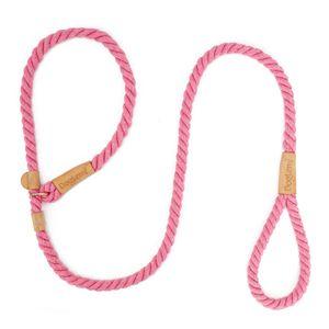 Hundeleine Slip Rope Geflochtenes Seil 1,7 m Heavy Duty No Pull Trainingsleine fuer kleine mittelgrosse Hunde
