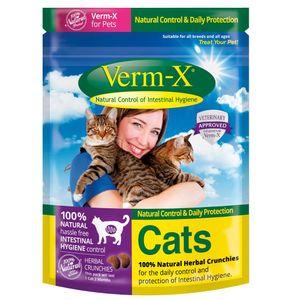 Verm-X Katzenleckerlis 120gr Default