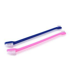6 Stück Hundezahnbürste,Zahnbürste Hund Zahnreinigungspflege für kleine bis große Hunde und Katzen