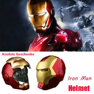 Super Hero Iron Man Elektronischer Helm  mit LED ,das Beste Spielzeug/Geschenk für Kind und selbst