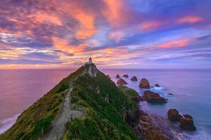 Schmidt Spiele Nugget Point Lighthouse, The Catlins, South Island - New Zealand - 3000 Teile Puzzle; 59348