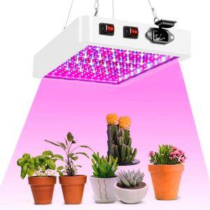 60W 216 LED Pflanzenlampe Grow Lampe Vollspektrum Zimmerpflanzen Wachstumslampe Pflanzenlicht