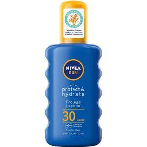NIVEA Sun Protect & Hydrate SPF 30, Körper, Feuchtigkeitsspendend, Schutz, Universal, Spray, 1 Stück(e), Aqua, Glycerin, C12-15 Alkyl Benzoate, Alcohol Denat., Ethylhexyl Salicylate, Butyl...