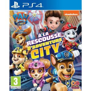 Paw Patrol, Paw Patrol: zur Rettung des Adventure City PS4-Spiels