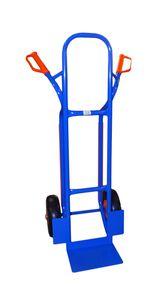 TRESTLES S04 blau Profi Sackkarre Transportkarre Treppenrutsche 250 kg PolyurethanRad