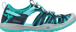 Keen Moxie Sandal Kinder Mädchen Sandale in blau, Größe:34