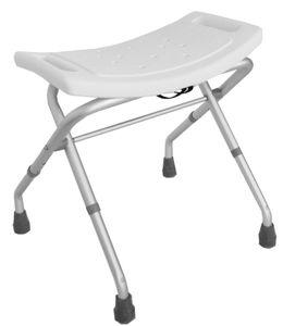 Badhocker klappbar 3 fach verstellbar Duschstuhl Badestuhl Duschhocker 150 kg