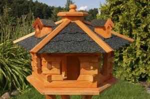 XXL Vogelhaus mit Bitumschindeln, behandelt Vogelhäuser