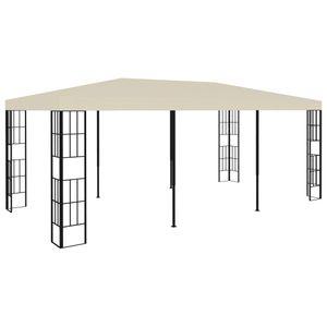 Zeitgemäßem- Pavillon 3x6 m Outdoor Pavillon Feste UV-SchutzCreme Size:6 x 3 x 2,6 m BESTE4728