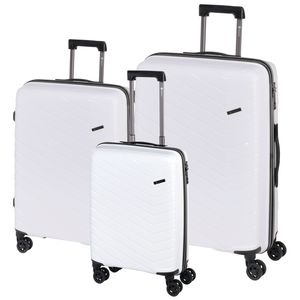 CHECK.IN Trolley-Set ORLANDO, 3-teilig, Farbe:pink