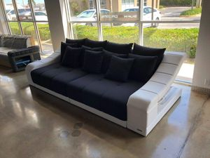 Big Sofa Turino in Stoff