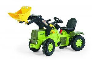 rolly toys Farmtrac MB Trettraktor mit Trac Lader, Bremse, Maße: 148x51x66 cm; 04 669 0