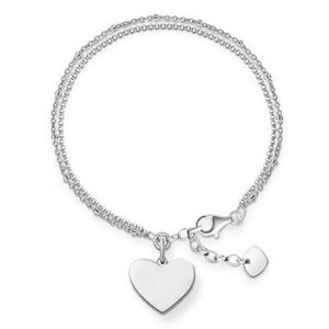Thomas Sabo Love Bridge Armband Sterling Silber 925/000 LBA0102-001-12-L19,5v