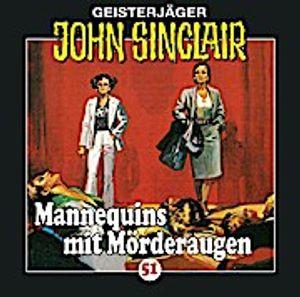 Sinclair,John Folge 51-Mannequins mit Mörderaugen
