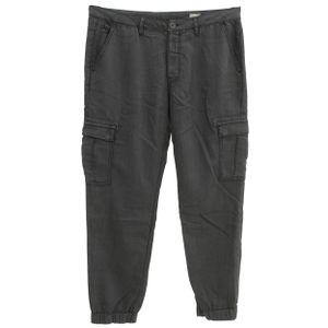 22491 Herrlicher, Scout,  7/8 Damen Jeans Hose, Gabardine Stretch, schwarz, W 32 L 28