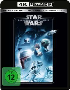 Star Wars: Episode V - Das Imperium schlägt zurück (4K Ultra HD + 2 Blu-rays)