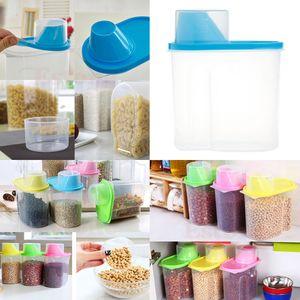 4x Küchen Müslispender 1.9L Aufbewahrungsbox Für Lebensmittel