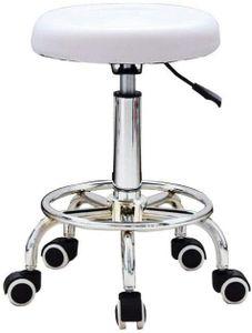 360° Drehhocker Rollhocker Arbeitshocker Kosmetikhocker Hocker Stuhl für Kosmetikstudios, Friseursalons Büros, Praxen, Maniküre