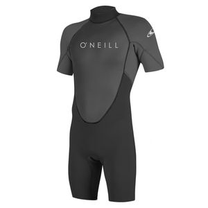 O´neill Wetsuits Reactor Ii 2mm Back Zip Spring Black / Graphite M