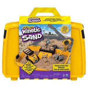 Spin Master 13430 KNS Kinetic Sand - Construction Folding Sandbox (907 g)