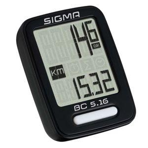 Sigma Fahrradcomputer BC 5.16 Schwarz 5160