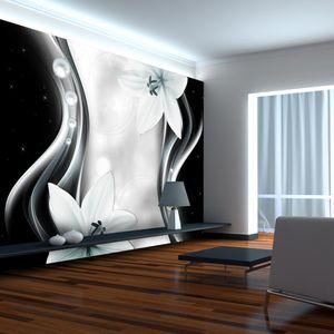 Vlies Tapete  Top  Fototapete  Wandbilder XXL  350x256 cm ABSTRAKT BLUMEN b-A-0246-a-c