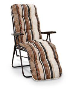 Best Freizeitmöbel Relaxliege Sylt Braun, 37301715