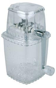 APS 36017 Ice Crusher Eiszerkleinerer aus Kunststoff 10x10x24cm, klar