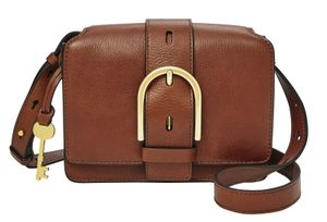 FOSSIL Wiley Mini Flap Bag Brown