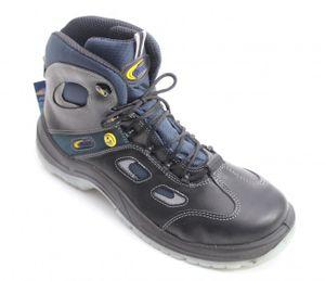 LUPOS EVO X21 Sicherheitsschuh Sicherheitsschuhe Arbeitsschuhe Hoch Stiefel S3, Größe:38
