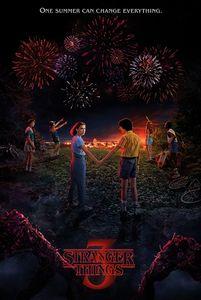 Stranger Things - One Summer - Season 3 - Poster Plakat Druck - Größe 61x91,5 cm