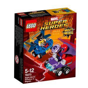 LEGO® Marvel Super Heroes™ Mighty Micros: Wolverine vs. Magneto 76073