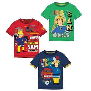 Feuerwehrmann Sam T-Shirt grün(104) (116|grün)