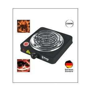 BHome Germany 1500 WATT Elektrischer Shisha Kohleanzünder Kohlebrenner Heizplatte Kochplatte