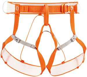 Petzl Altitude Klettergurt Damen und Herren Hüftgurt , Farbe:orange, Größe:Gr. S/M