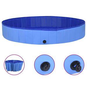 Hundepool Faltbar Blau 300x40 cm PVC