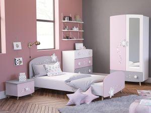 """Kinderzimmer Möbelset Prinzessinenzimmer Mädchenzimmer (4-teilig) """"Savannah II"""""""